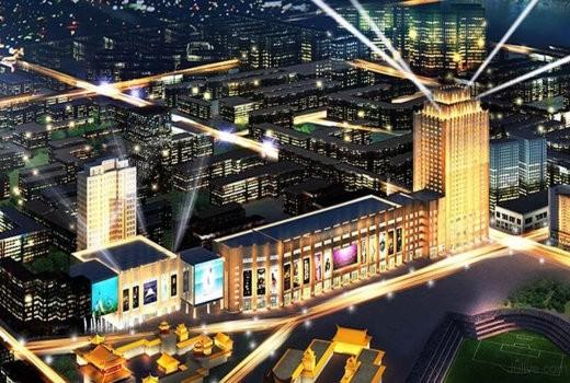 东达国际广场效果图