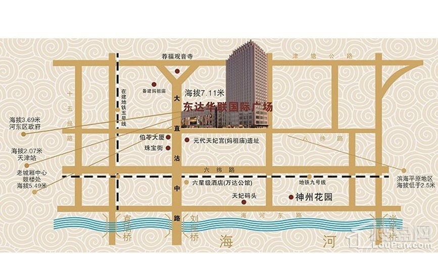 东达国际广场位置图