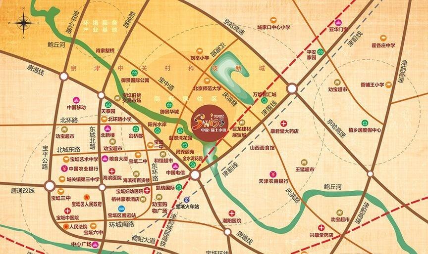 碧桂园时光小镇位置图
