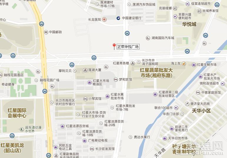 正荣华悦广场位置图