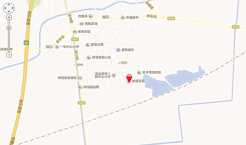 尚港华府位置图