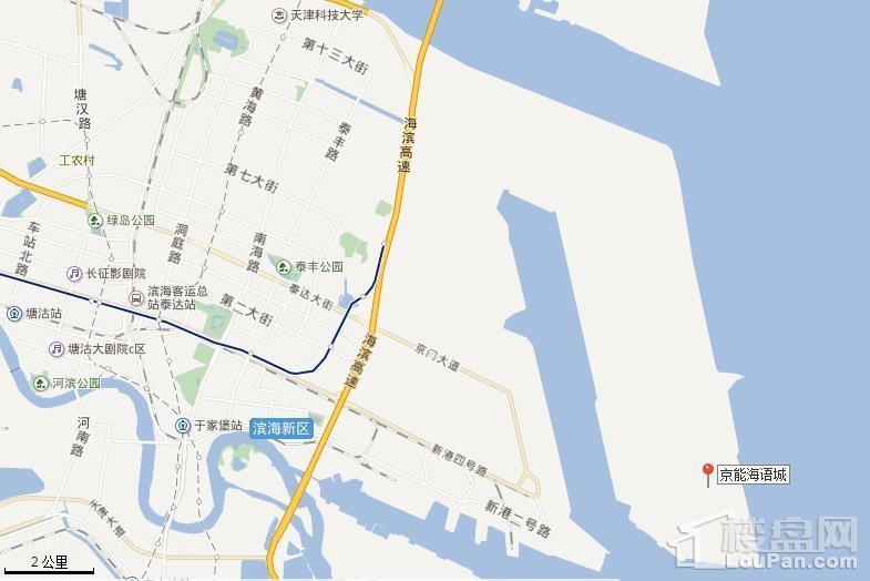 京能海语城位置图