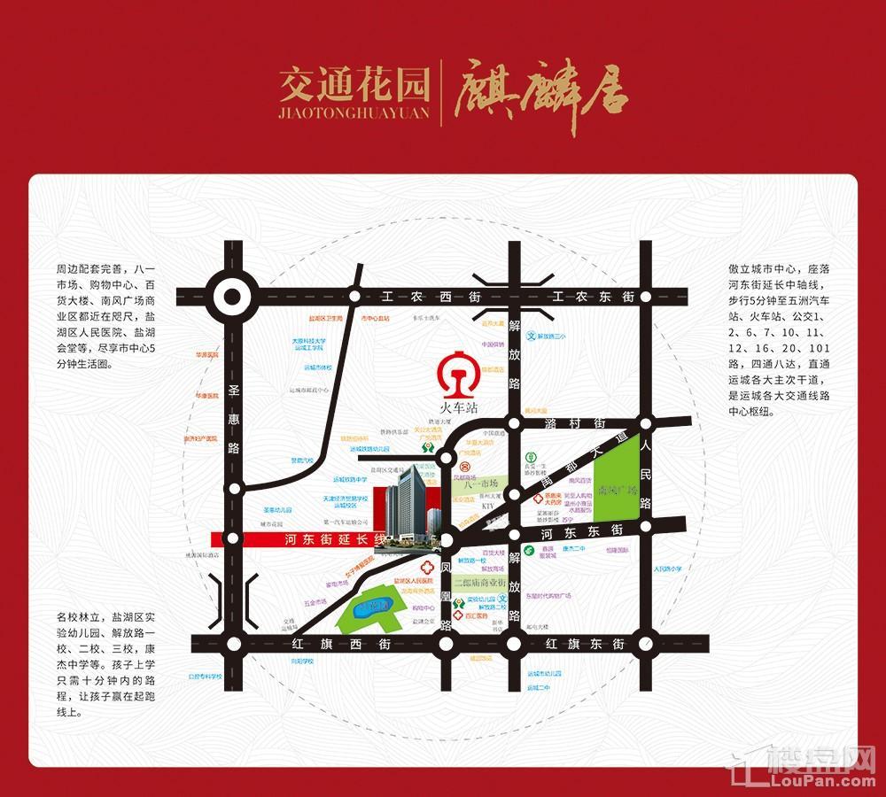 交通花园位置图