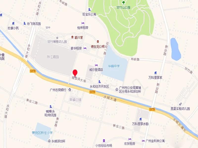 碧桂园克拉广场位置图