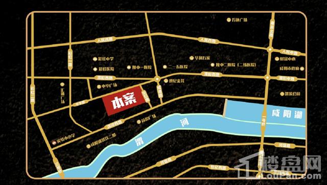 中央首府位置图