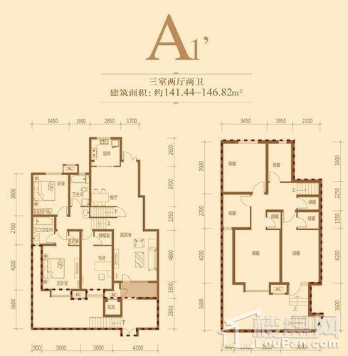 一期9、12、13号楼首层A户型