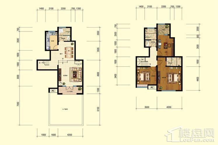 二期洋房6-8、10-11号楼标准层G户型