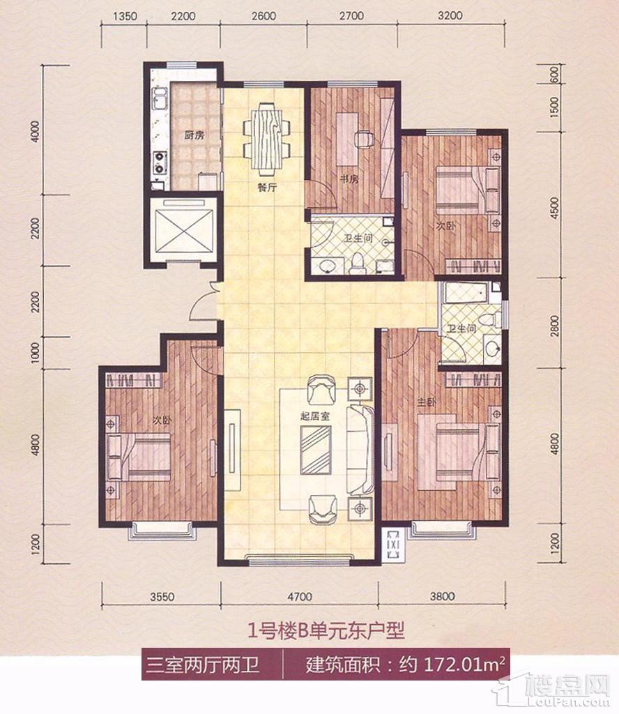富悦湾户型图