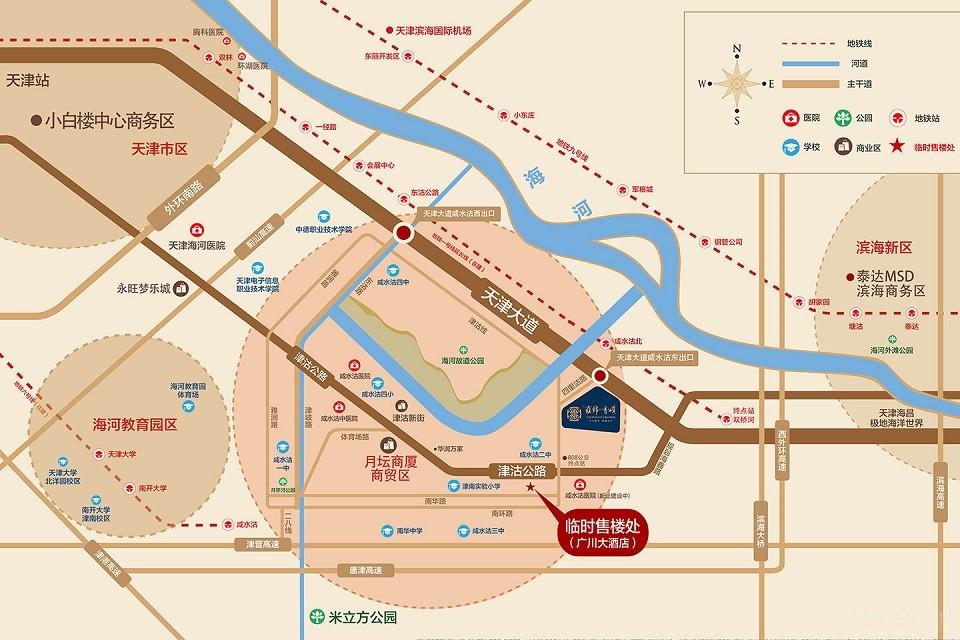 蓝光雍锦香颂位置图