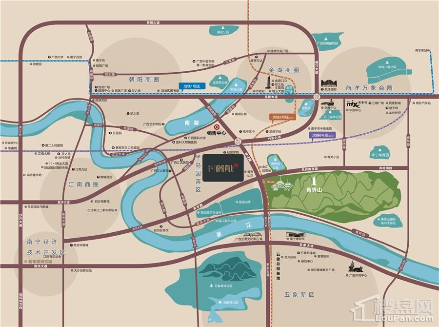 新希望·大唐·锦悦青山位置图