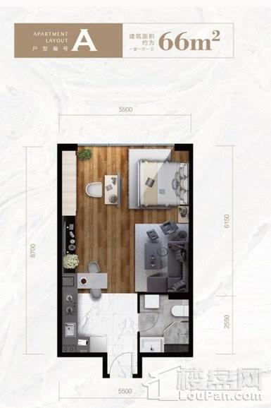 公寓标准层A户型