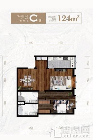公寓标准层C反