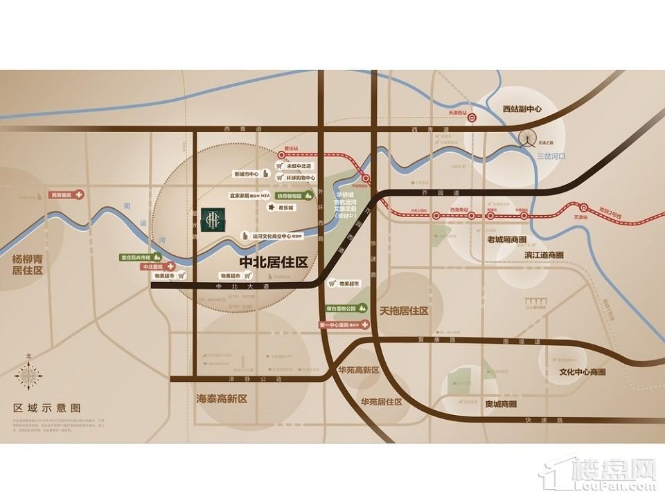华侨城万科翡翠嘉和位置图