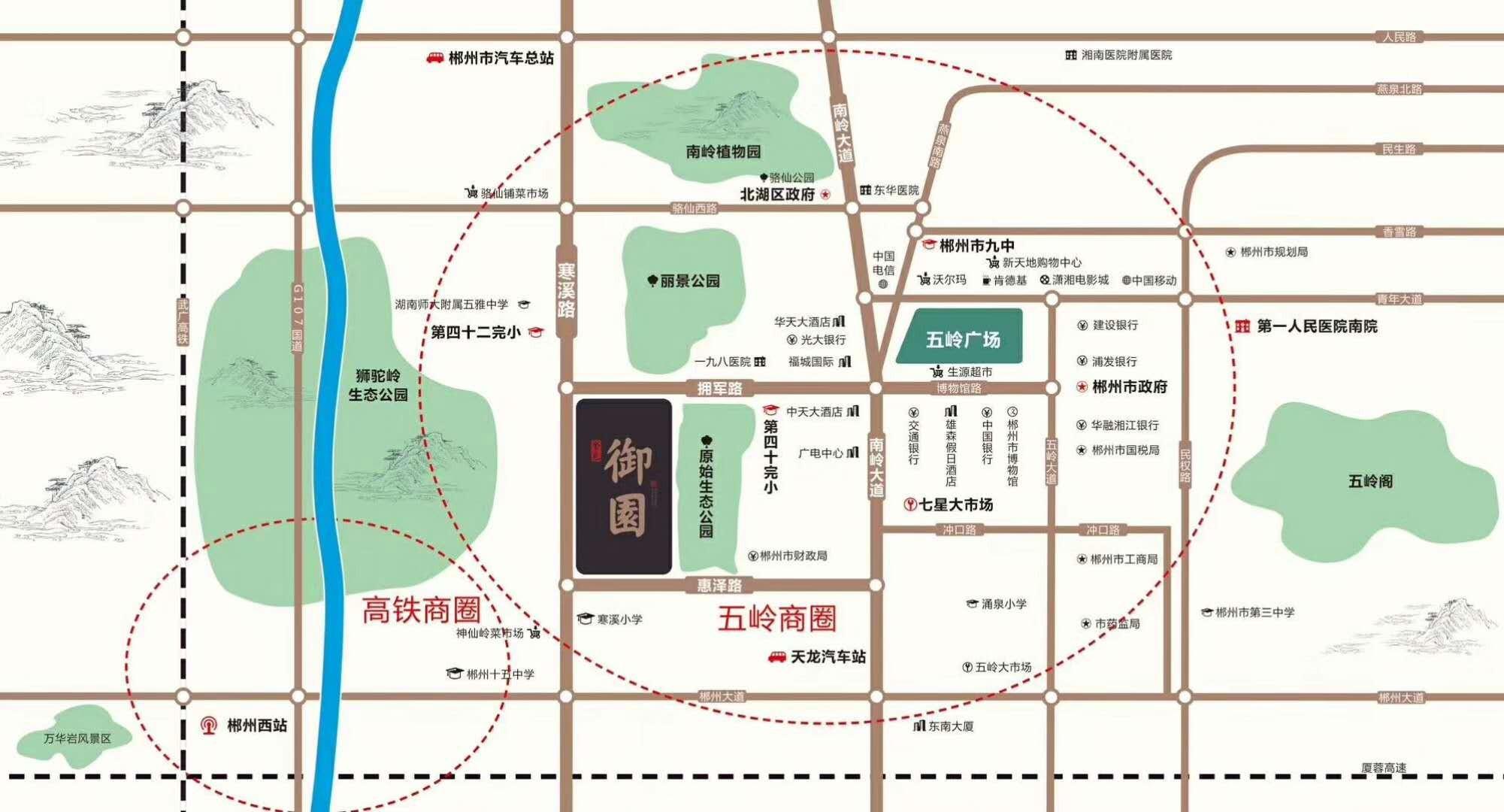金色御园位置图