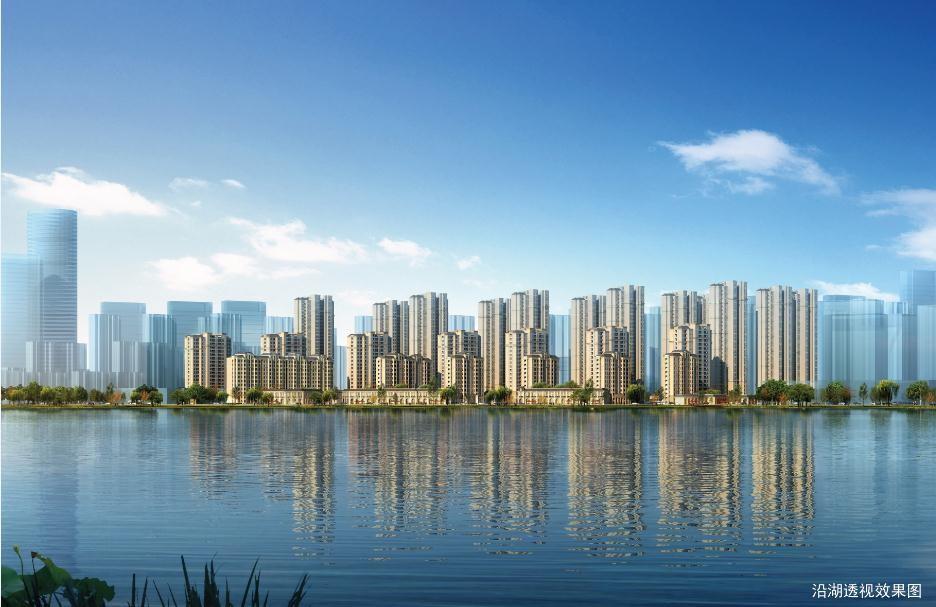 中海华山珑城实景图