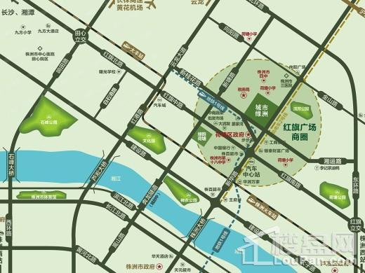 城市绿洲位置图