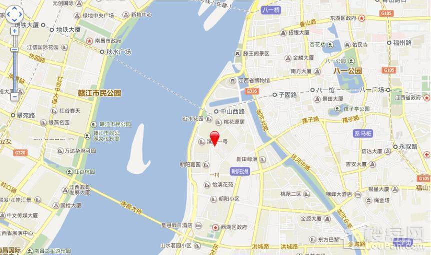 滨江明珠位置图