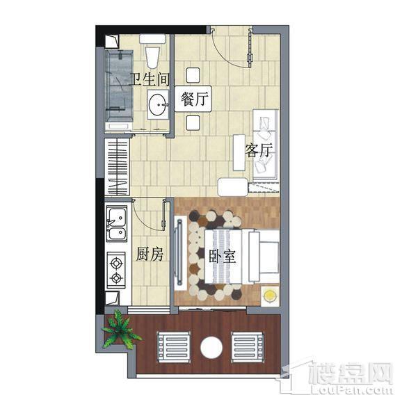滨江明珠户型图