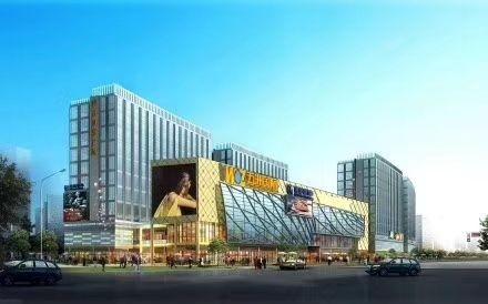 杭州五洲国际广场效果图