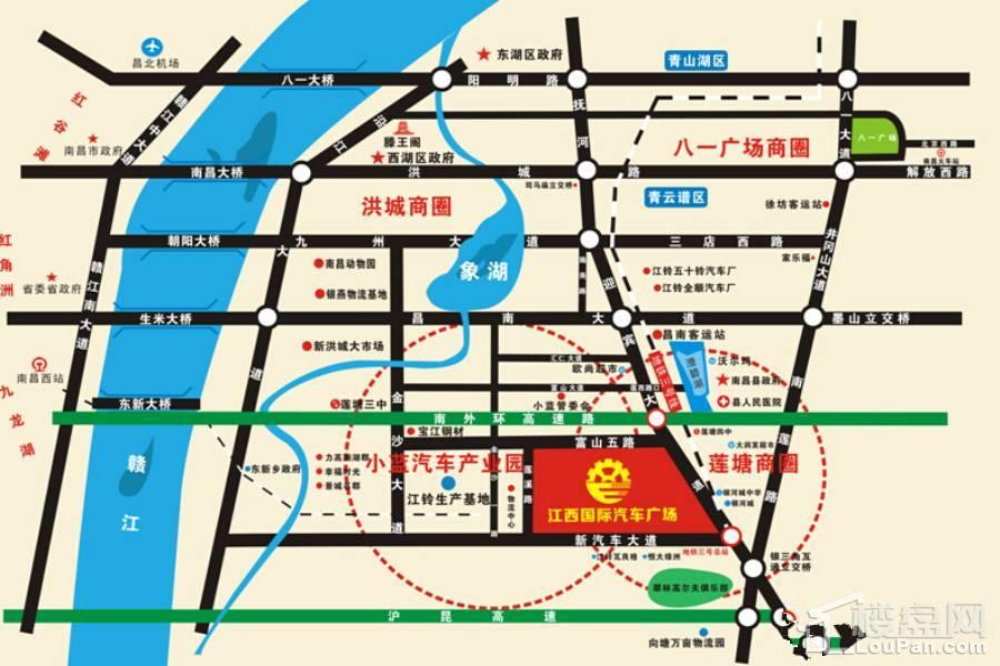 江西国际汽车广场位置图