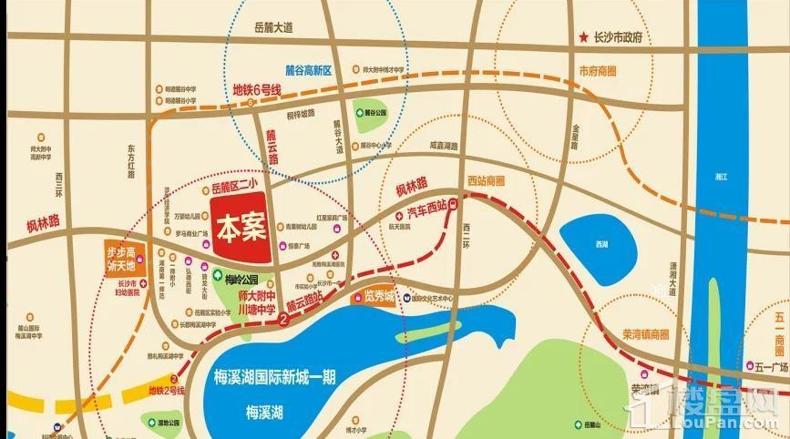 梅溪盛荟位置图