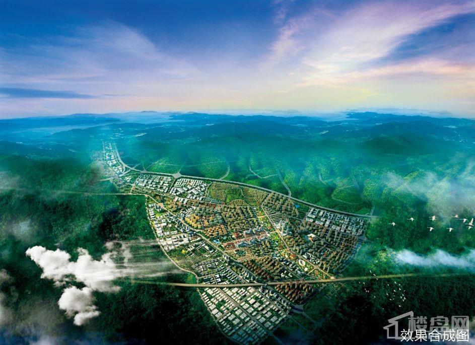 兰州大名城鸟瞰图