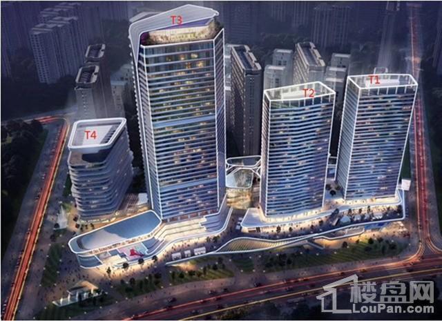 汉华•曲江中心公寓效果图