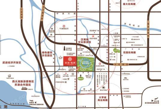 新城锦域位置图