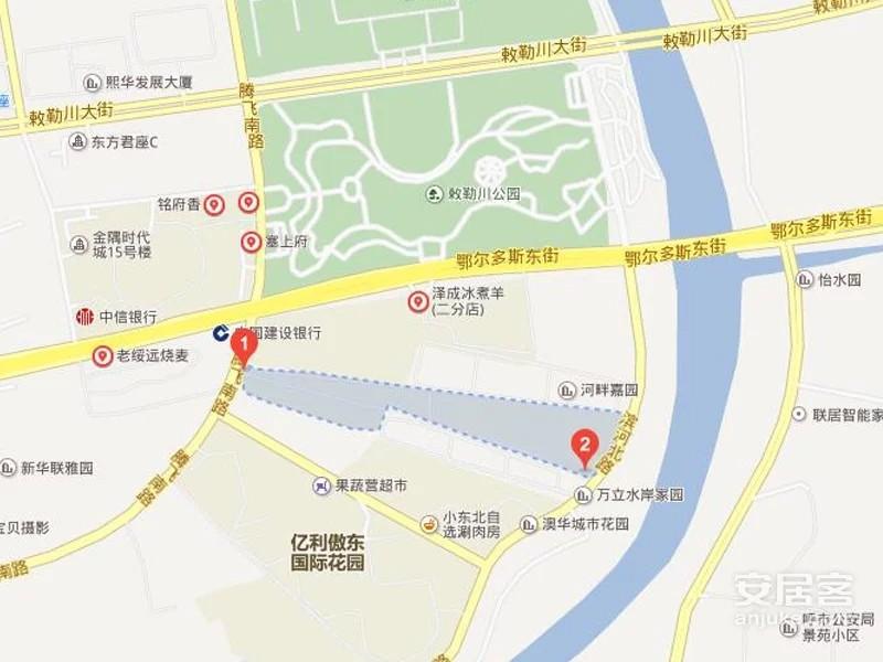 碧龙江畔位置图