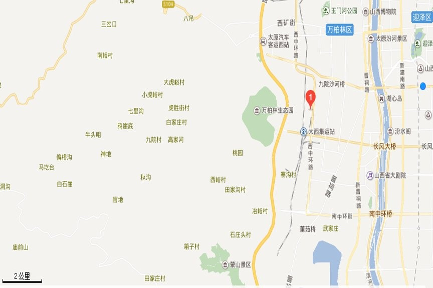 太化·紫景天城位置图