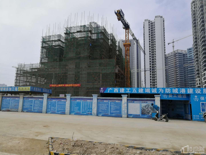 中央商务区翡翠园三期实景图