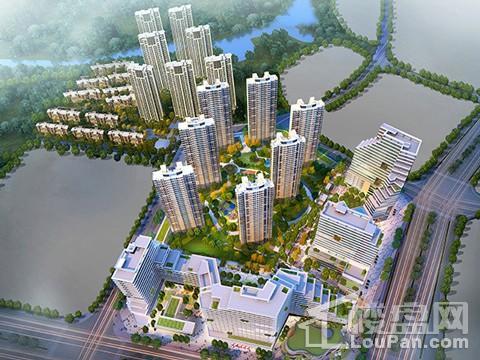 红谷瑞仕城际广场效果图