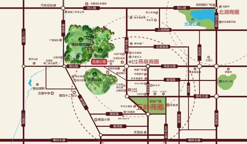 生源公馆位置图
