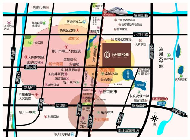 碧桂园天誉名邸位置图