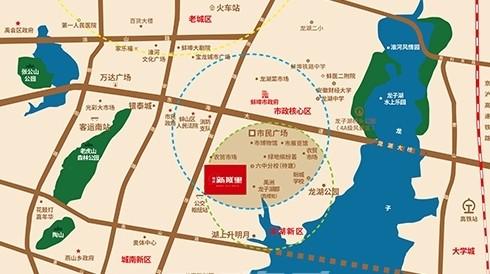 禹洲新城里位置图