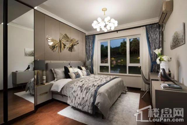 兰州万科城卧室意境图