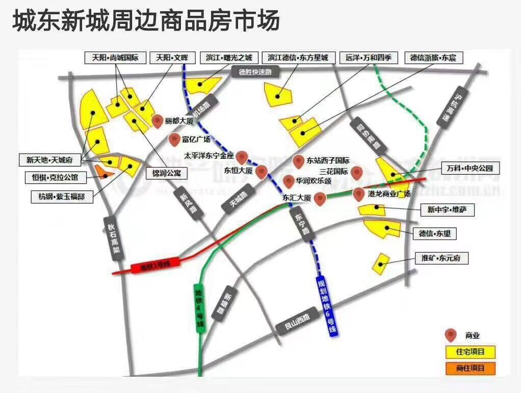 杭州港龙城效果图