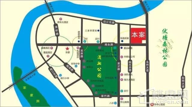 麒麟公馆位置图