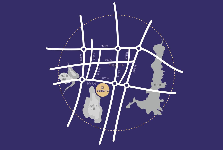 凤凰国际广场位置图