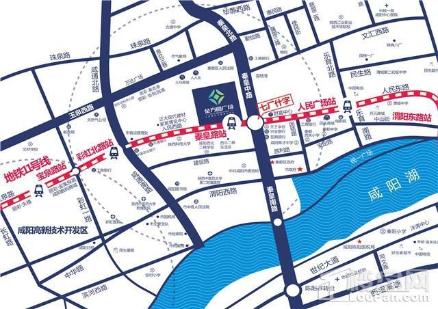 金方圆广场位置图