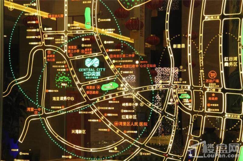 合一中央城位置图