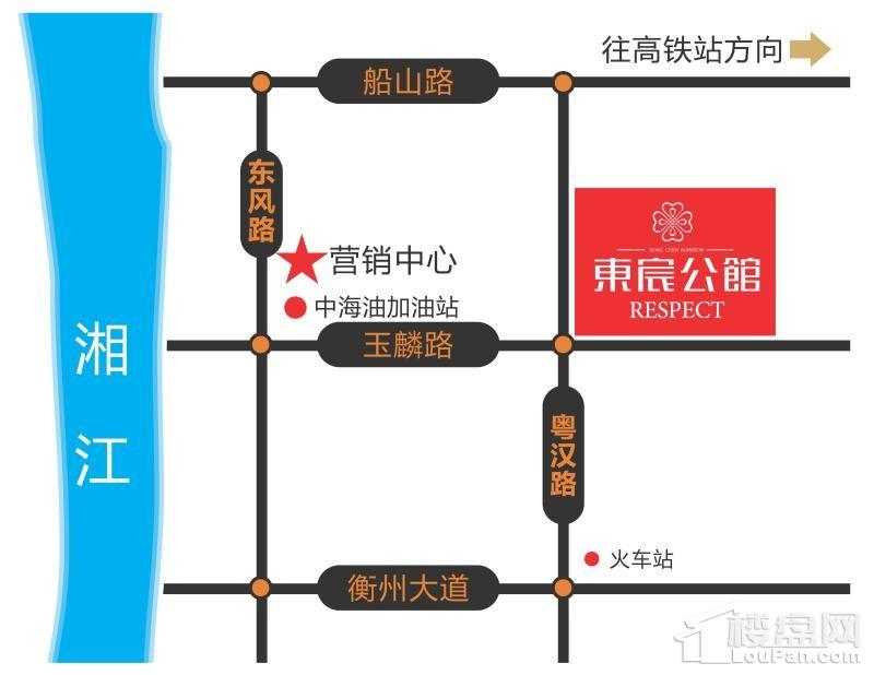 东宸公馆位置图