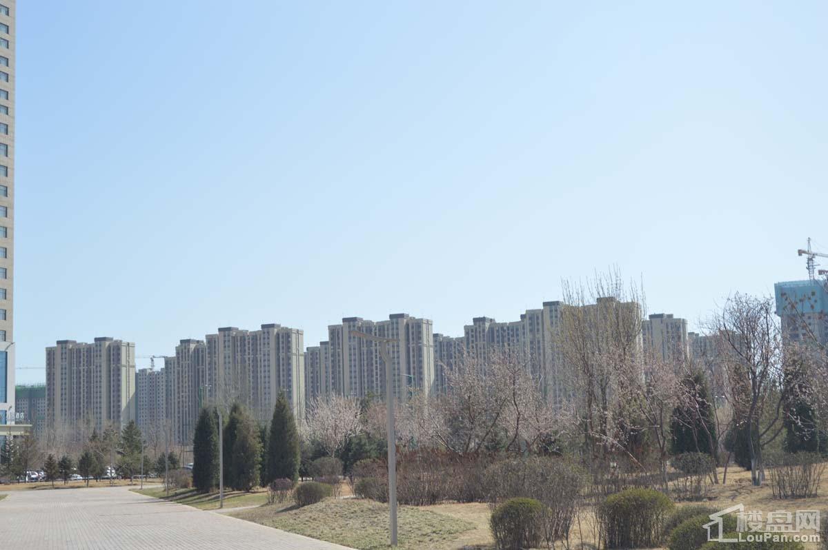 富力城实景图