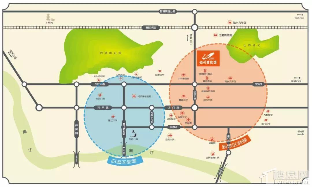 始兴碧桂园位置图