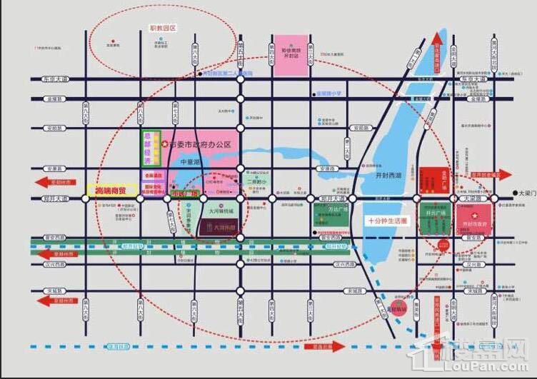 大河锦悦城位置图