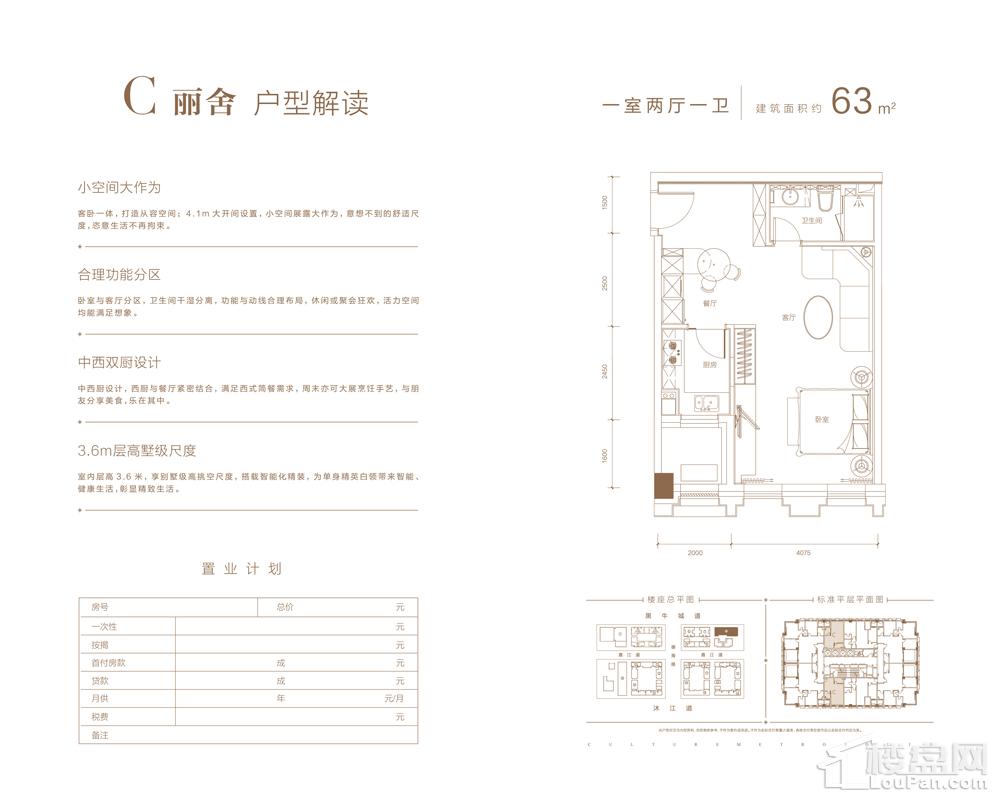 10#C丽舍户型