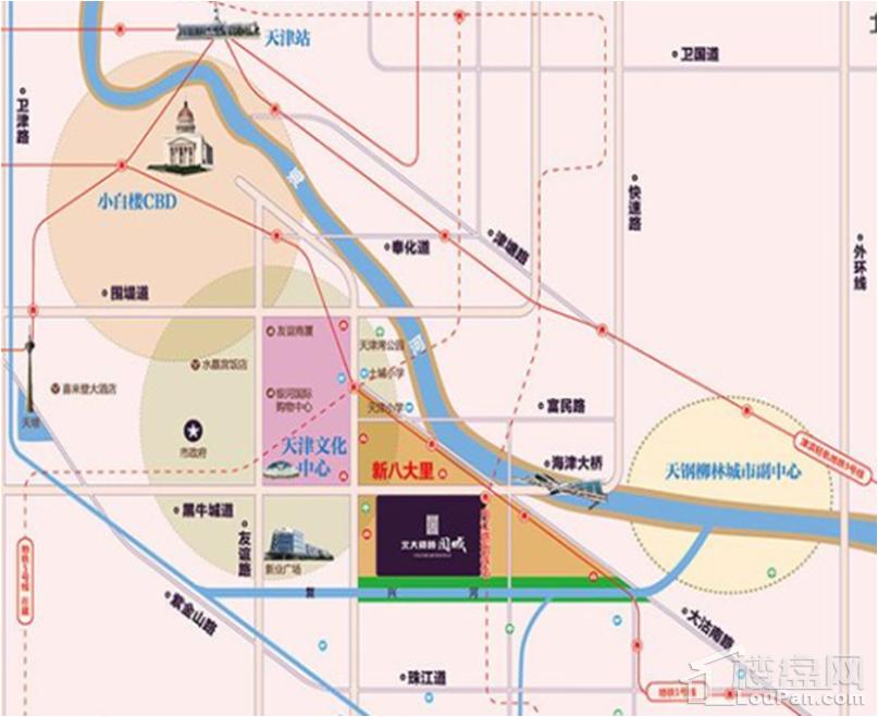 北大资源阅城位置图