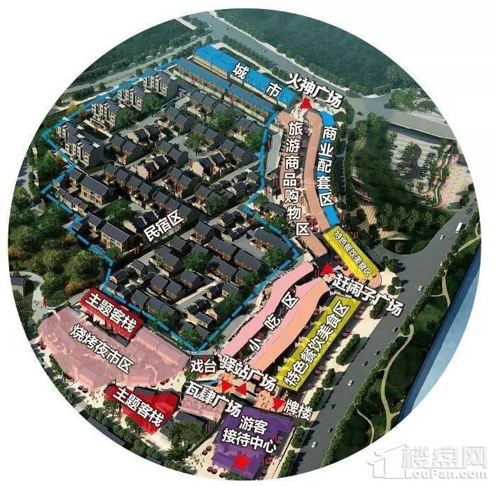 零陵古城位置图