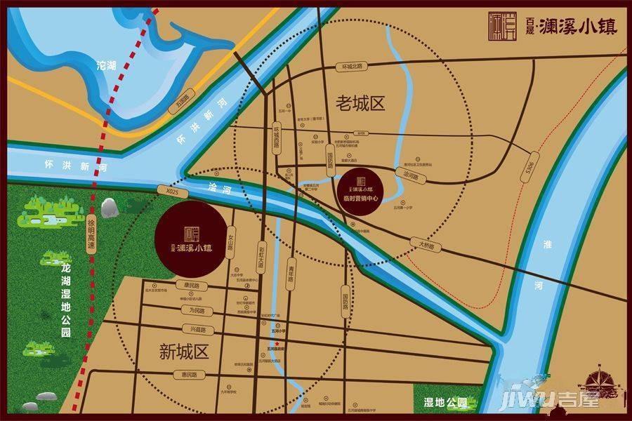 百晟澜溪小镇位置图
