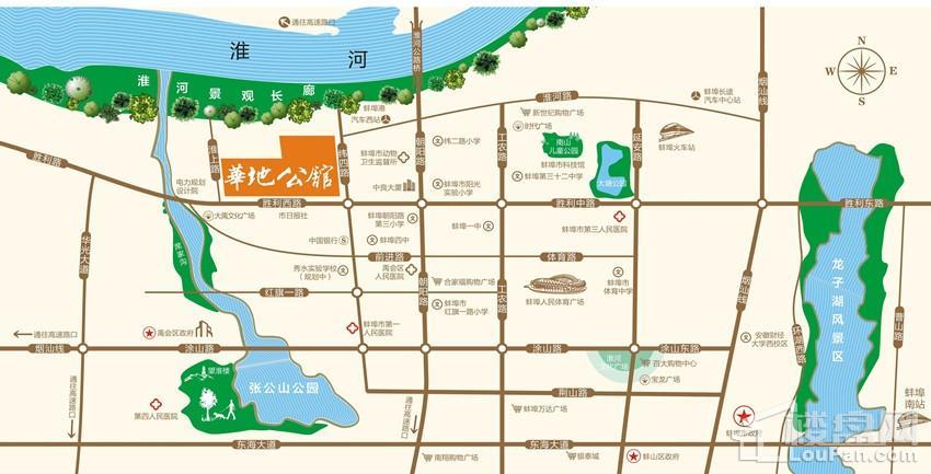 华地公馆位置图